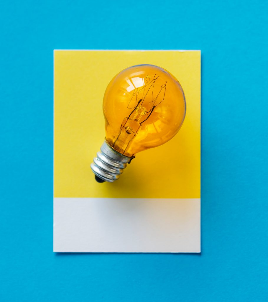 light bulb moment - planning and thinking differently