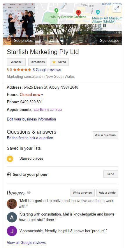23 marketing freebies - GoogleMyBusiness