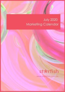 July 2020 Marketing Calendar