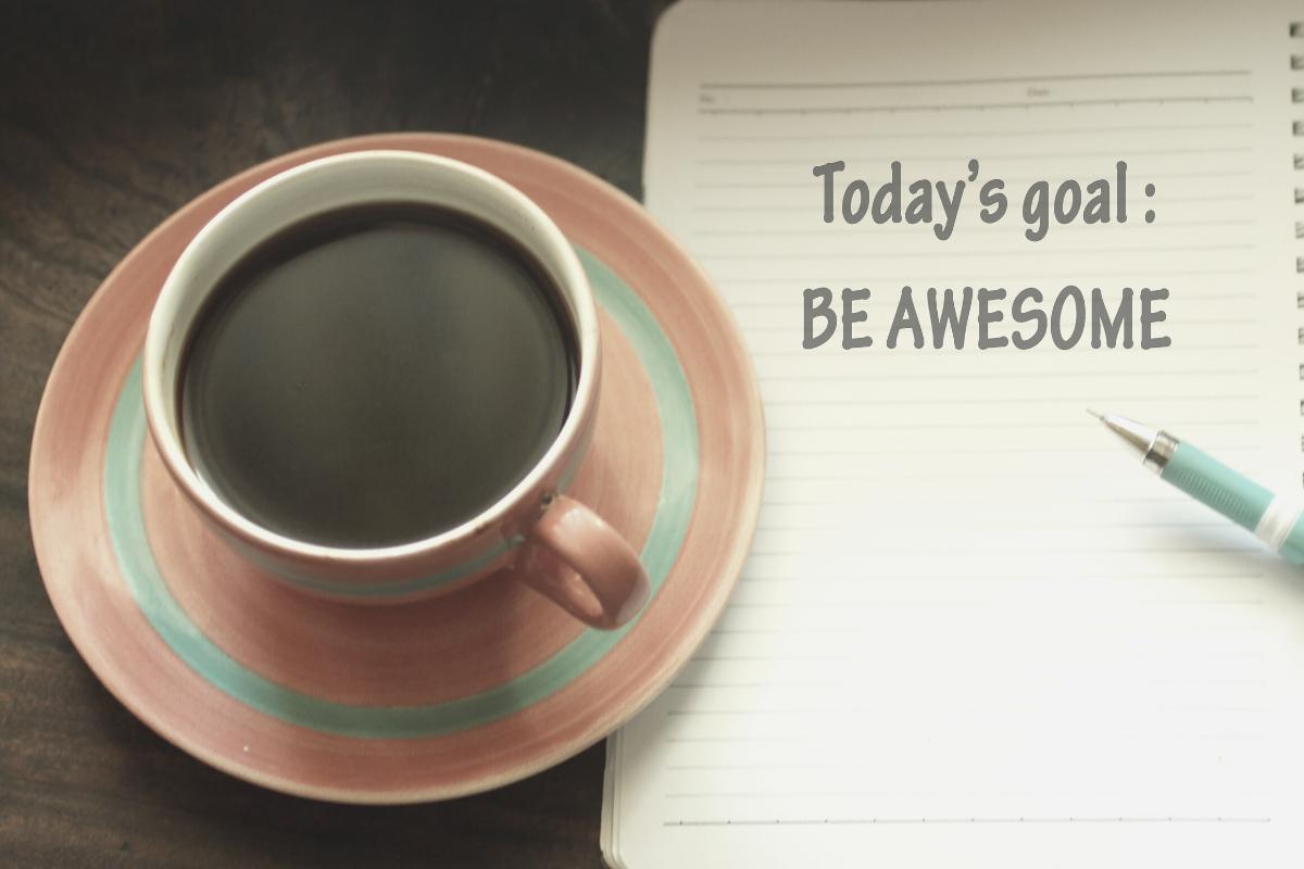 be awesome at social media